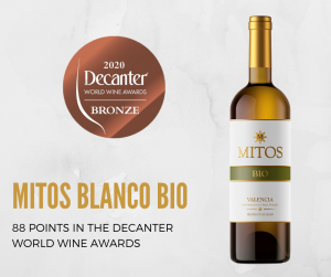 MITOS Blanco BIO Decanter Bronce 2020
